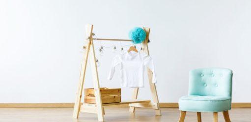 Garderoba wpokoju dziecka. Niestandardowe projekty