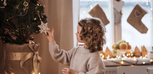Choinka świąteczna – wjakim rozmiarze wybrać drzewko dopokoju dziecka?